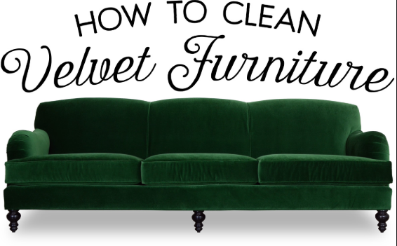 How to perform the velvet cleaning process